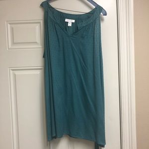 Teal Maternity Top